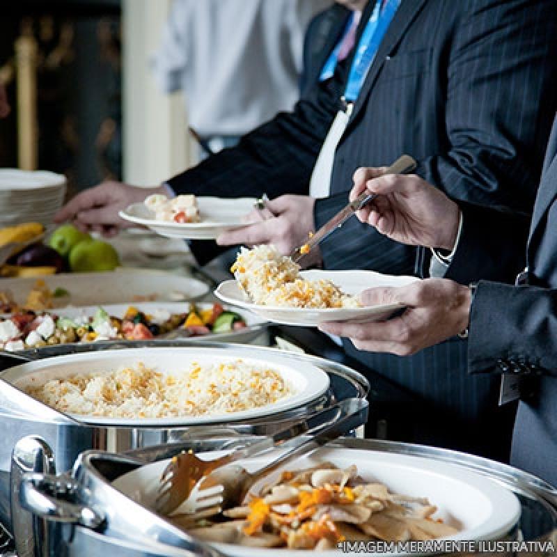 Almoço na Empresa Orçamentos Jd da Conquista - Almoço Empresarial Coletivo