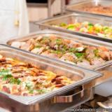 alimentação coletiva almoço transportado Vila Mazzei
