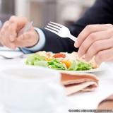 alimentação saudável para empresa preço Vila Dalila