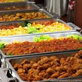 almoço coletivo transportado Vila Tramontano