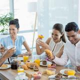 café da manhã saudável empresa fornecedor Parque Dom Pedro