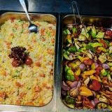 distribuidor de refeição coletiva almoço transportado Jardim Helian