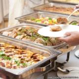 distribuidor de refeição em empresa almoço transportado Chácara Flora