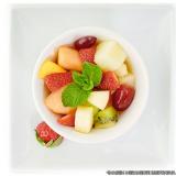 fornecedor de café da manhã com frutas na empresa Sé