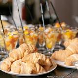fornecedor de café da manhã na empresa ABC