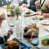 refeição coletiva almoço orçamento Sé