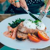 refeição coletiva almoço saudável Aclimação