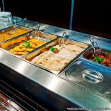 refeição coletiva almoço transportado preço Chácara Flora