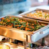 refeição transportada coletiva preços Jardim Casa Pintada